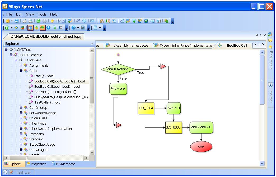 9raysnet use visual decompiler to build code flow diagrams